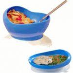 bumper bowl plate